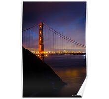 Golden Gate-San Francisco Poster