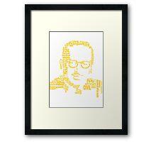 Thurgood Marshall Framed Print