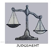 Judgement- The Plan of Salvation Photographic Print