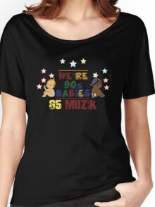 We're 90's Babies Women's Relaxed Fit T-Shirt