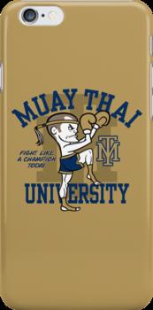 MUAY THAI UNIVERSITY by popnerd