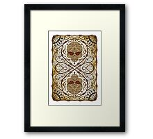 Plugged Nickel Lucky Framed Print