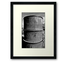Bullet Barrel  Framed Print