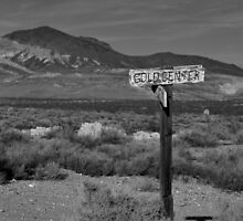 Sign in the Desert  by nat3th3gr3at