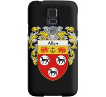 Allen Coat of Arms/Family Crest Samsung Galaxy Case/Skin