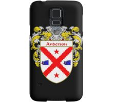 Anderson Coat of Arms/Family Crest Samsung Galaxy Case/Skin