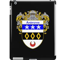 Andrews Coat of Arms/Family Crest iPad Case/Skin