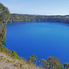 Blue Lake, Mount Gambier, South Australia by Margaret  Hyde