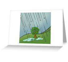 Rainy Greeting Card