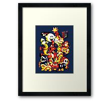 Plumber Problems Framed Print