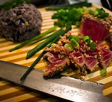 Seared Tuna by nat3th3gr3at