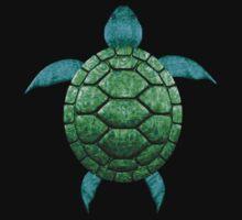 Sea turtle Art T-Shirt by Walter Colvin
