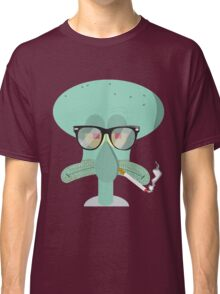 Hipster Squidward Classic T-Shirt