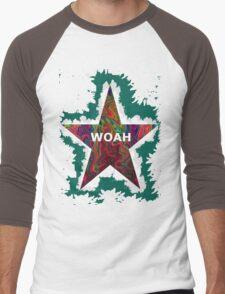 """""""woah"""" Men's Baseball ¾ T-Shirt"""