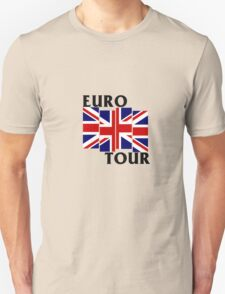 Black Flag European Tour  T-Shirt