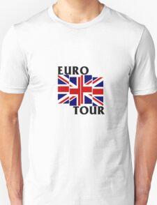Black Flag European Tour  T-Shirt