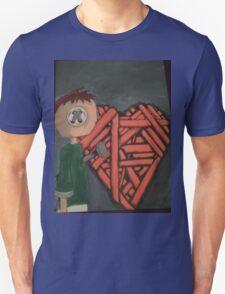 knitted heart T-Shirt