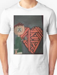 knitted heart T-Shirt