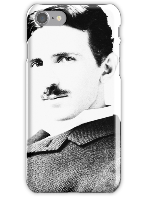 Tesla [B&W] | The Wighte Collection by FreshThreadShop