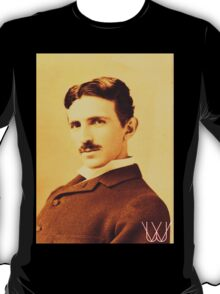 Tesla [B&W]   The Wighte Collection T-Shirt