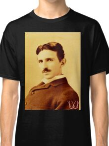 Tesla [B&W] | The Wighte Collection Classic T-Shirt