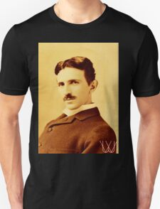 Tesla [B&W] | The Wighte Collection Unisex T-Shirt