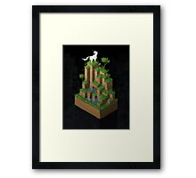 The Unicorn And Her Woods Framed Print