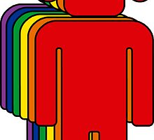 Rainbow Man by iJayyQ