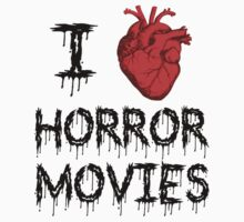 I Heart Horror Movies by poorlydesigns