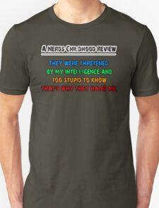 A Nerds Childhood Review Unisex T-Shirt