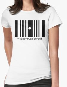 The Doppler Effect Womens Fitted T-Shirt