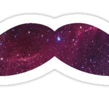 Galaxy Mustache Sticker
