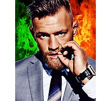 Conor McGregor - Irish FIRE Photographic Print
