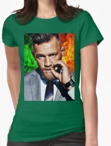 Conor McGregor - Irish FIRE Womens Fitted T-Shirt