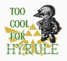 Too Cool For Hyrule by poorlydesigns