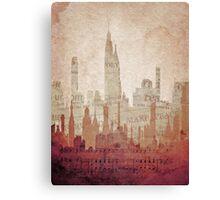 Paper City Canvas Print