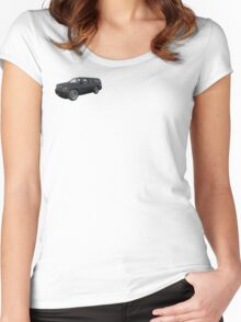 ARMA 2 Chevrolet Suburban Women's Fitted Scoop T-Shirt