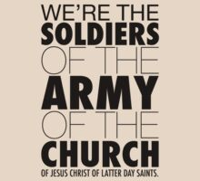 Book of Mormon - Soldiers of the Church by firlachiel