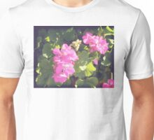 Vintage Flower Blossoms Unisex T-Shirt