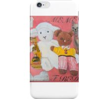 Me me and Fred  iPhone Case/Skin
