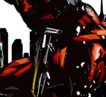 Deadpool Montage Sticker