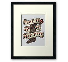 Adventurer Like You Framed Print