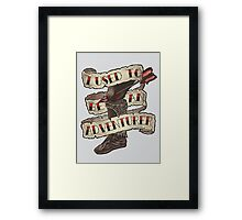 Adventurer Like You Framed Print