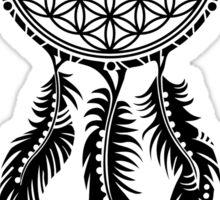 Dream Catcher - Flower Of Life Sticker