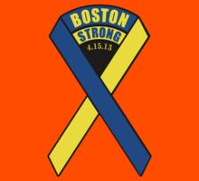 Boston Strong Ribbon Kids Clothes