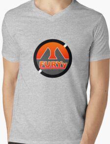Fury logo design Mens V-Neck T-Shirt
