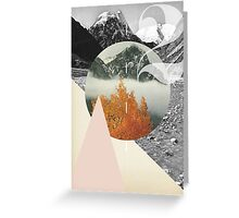 Diagonal Scape Greeting Card
