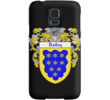 Bailey Coat of Arms/Family Crest Samsung Galaxy Case/Skin