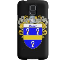 Baker Coat of Arms/Family Crest Samsung Galaxy Case/Skin