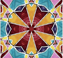 Stained Glass Window 4 by SRowe Art
